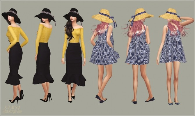 Back Ribbon Wide Floppy Hat at Marigold image 1488 670x399 Sims 4 Updates