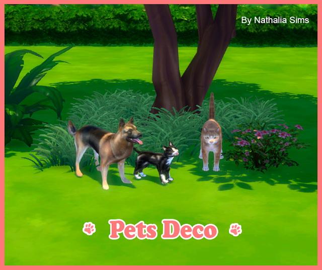 Pets Deco At Nathalia Sims 187 Sims 4 Updates