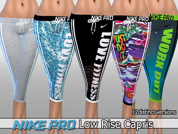 Low Rise Capris Pack by Pinkzombiecupcakes at TSR image 1512 Sims 4 Updates