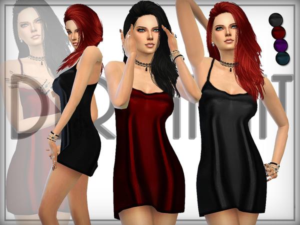 Sims 4 Meadow Slip Camis by DarkNighTt at TSR