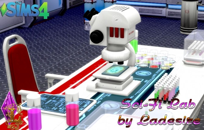 Sci Fi Lab At Ladesire 187 Sims 4 Updates