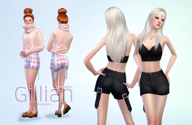 Sims 4 GILLIAN Short pants at manuea Pinny