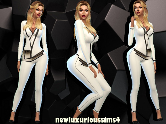 It S Just Business Outfit At New Luxurious Sims 4 187 Sims 4