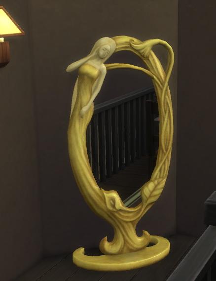 Sims 4 Floor mirror at Hinayuna's Sims 4 CC