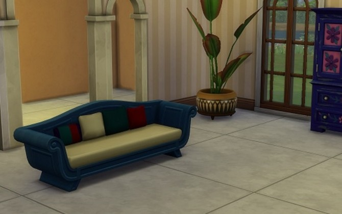 Sims 4 12 Recolors of the Long Stretch sofa by blueshreveport at Mod The Sims
