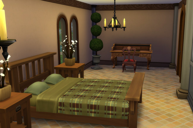 Sims 4 Villa Rustica by blackypanther at Blacky's Sims Zoo