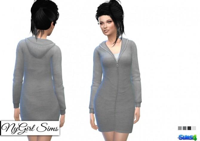 Hooded Sweatshirt Dress at Around the Sims 4 image 16016 670x473 Sims 4 Updates