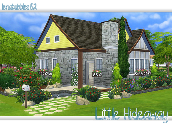 Sims 4 Little Hideaway home by lenabubbles82 at TSR