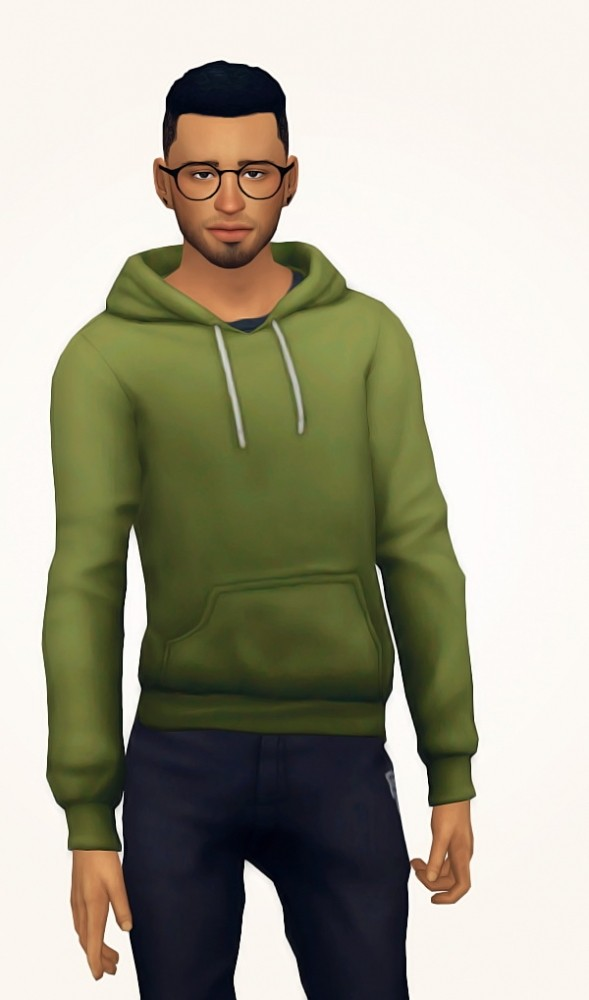 Sims 4 Cozy hoodie at Nyloa