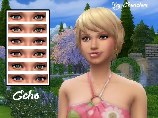 Echo eyes by Chanchan24 at Sims Artists image  Sims 4 Updates