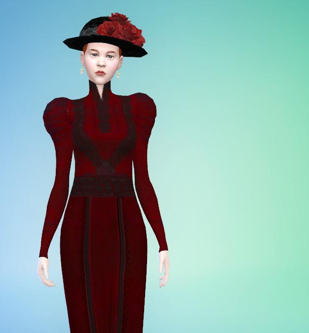 Crimson clothes set at Budgie2budgie image 16910 Sims 4 Updates