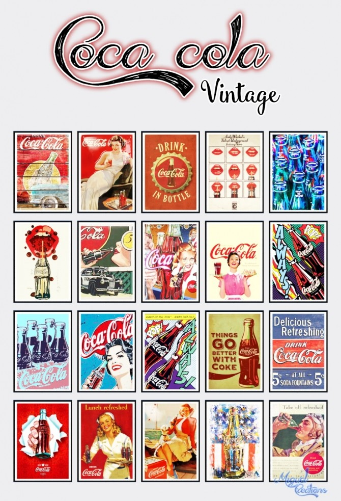 Cola Vintage at Victor Miguel image 1695 670x983 Sims 4 Updates