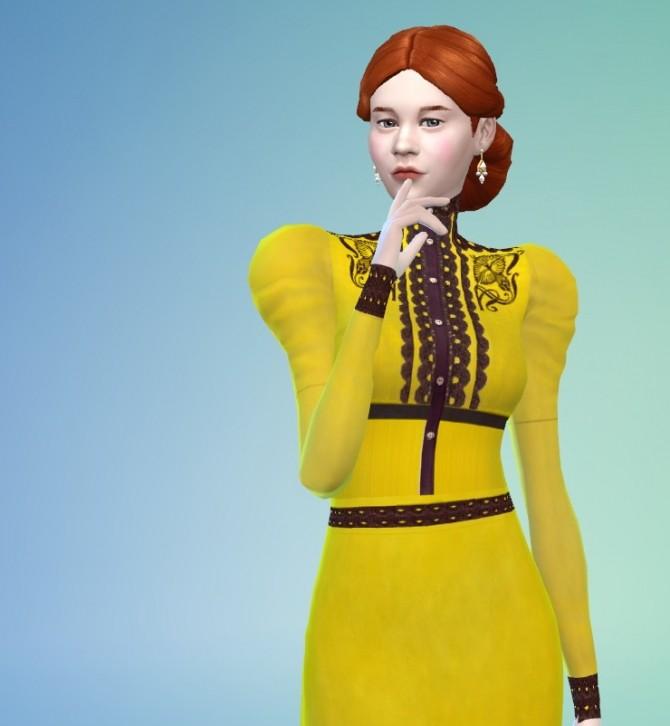 Crimson clothes set at Budgie2budgie image 17010 670x726 Sims 4 Updates