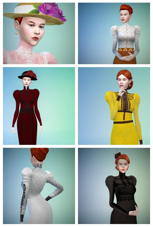 Crimson clothes set at Budgie2budgie image 17311 Sims 4 Updates