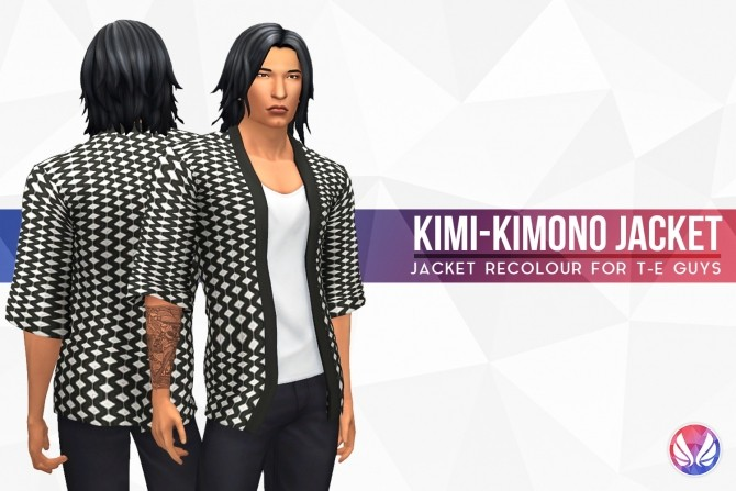 Kimi Kimono Jacket at Simsational Designs image 1733 670x447 Sims 4 Updates