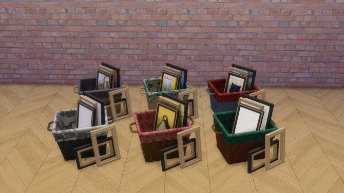 Sims 4 Prism Art Studio Conversion by driana at SimsWorkshop