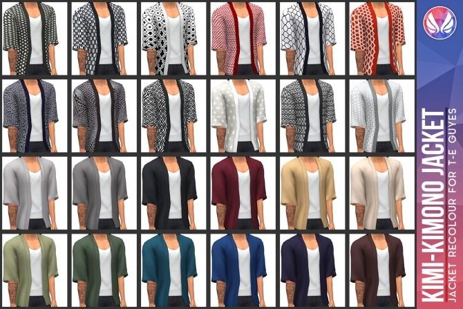 Sims 4 Kimi Kimono Jacket at Simsational Designs