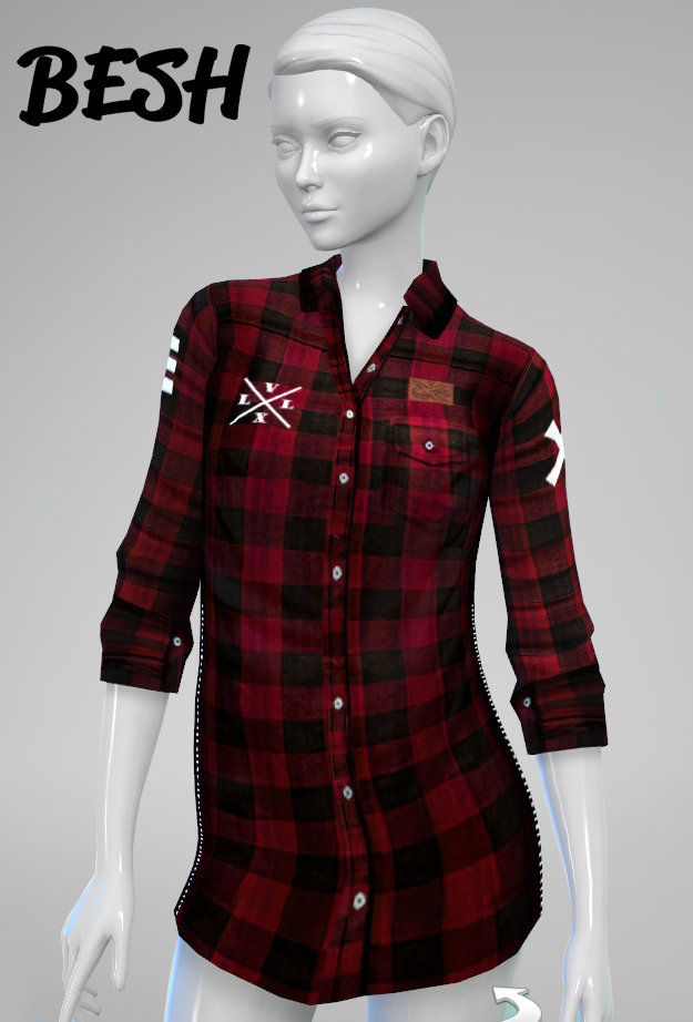 Female Tops At Besh 187 Sims 4 Updates