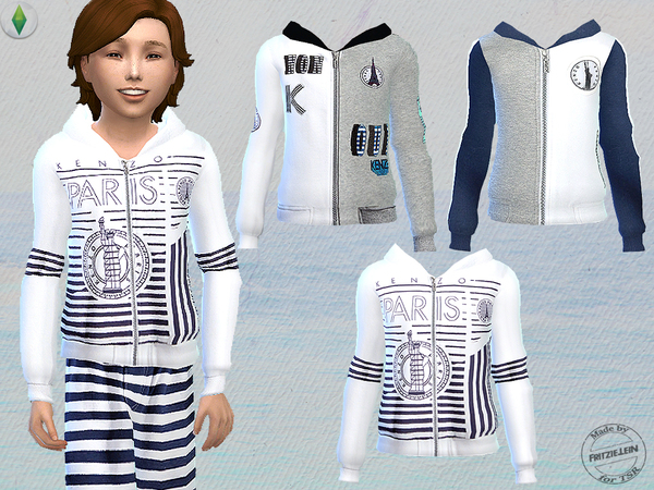 Sims 4 Cool Summer Set for Boys by Fritzie.Lein at TSR