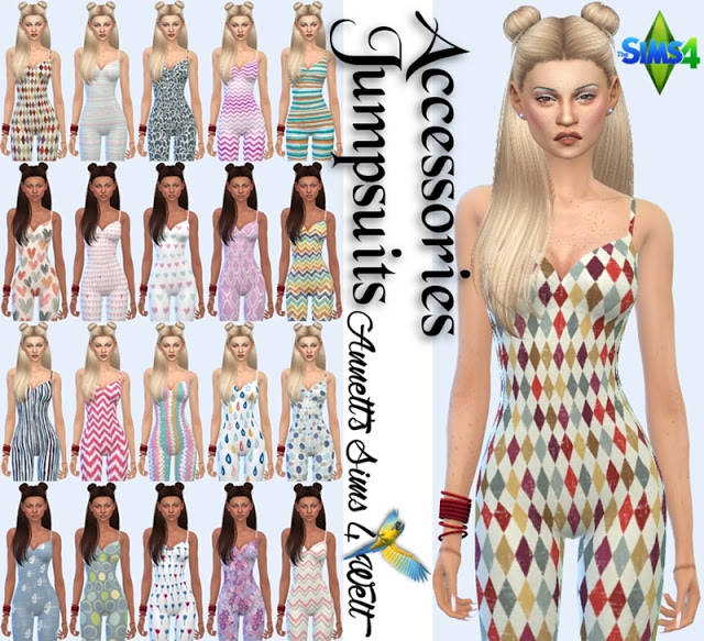 Annetts Sims 4 Welt: Accessory Bodysuits Dancing