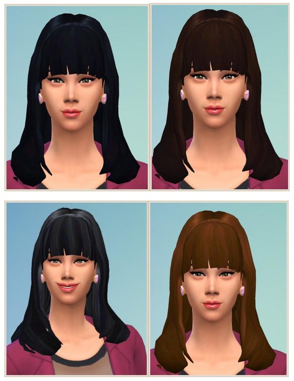 Sims 4 That Girl Hair at Birksches Sims Blog