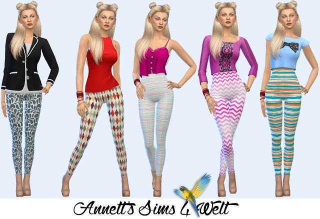 Sims 4 Accessories Jumpsuits at Annett's Sims 4 Welt