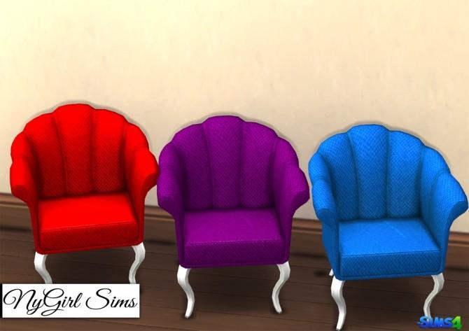 Sims 4 TS3 Romantic Living Room Chair Conversion at NyGirl Sims