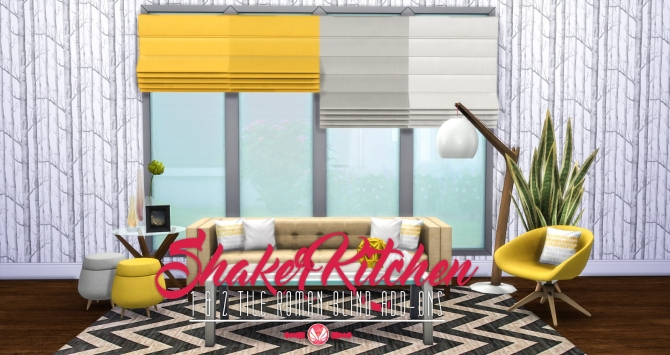 1 And 2 Tile Roman Blinds Shaker Kitchen Addons At
