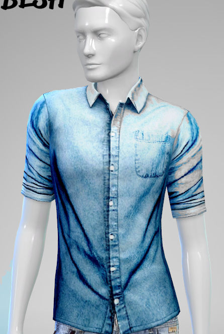 Sims 4 Tops for males at Besh
