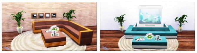 Sims 4 Living Room TS3   TS4 conversion at Victor Miguel