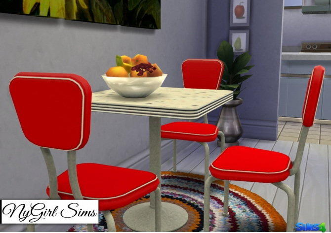 Ts3 50 S Dining Set Conversion At Nygirl Sims 187 Sims 4 Updates
