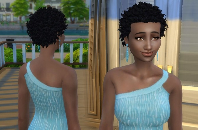 Sims 4 Close curls for Her at My Stuff