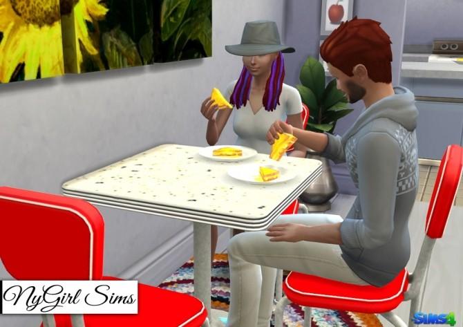 Sims 4 TS3 50s Dining Set Conversion at NyGirl Sims