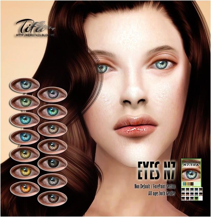 Sims 4 Eyes N7 ND at Tifa Sims