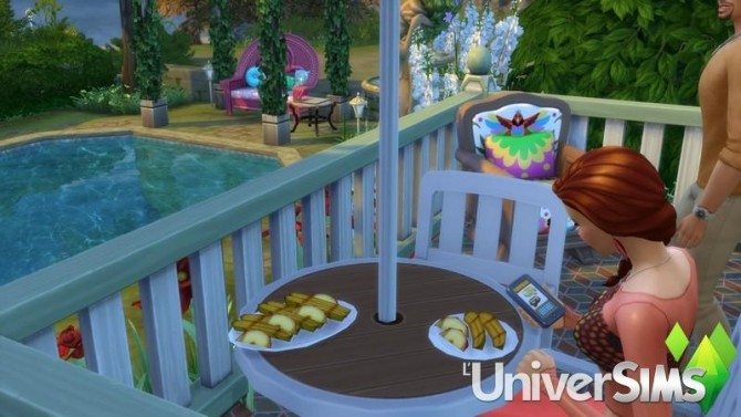 Sims 4 The nest by chipie cyrano at L'UniverSims