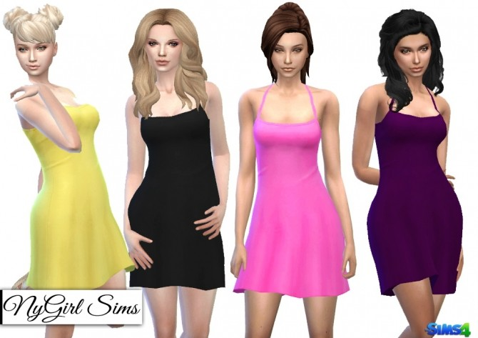 Sims 4 Simple Summer Sundress at NyGirl Sims