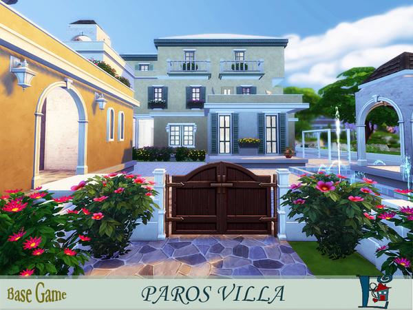 Paros Villa by evi at TSR image 1950 Sims 4 Updates