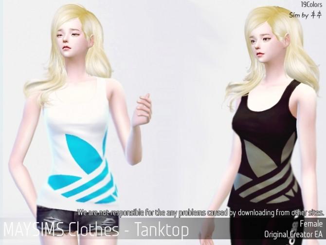 Sims 4 Tank Top F at May Sims