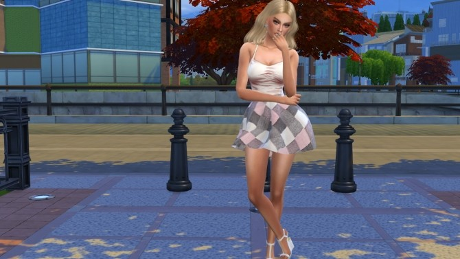 Sims 4 Angela by Elena at Sims World by Denver