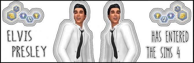 Sims 4 Elvis Presley Sim for TS4 at ThatMalorieGirl