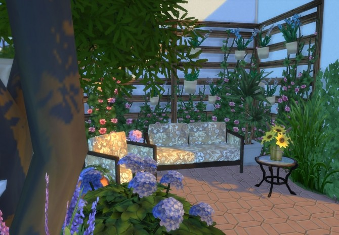 Ibiza Terrace Mediterranean style by Mary Jimenez at pqSims4 image 19812 670x464 Sims 4 Updates