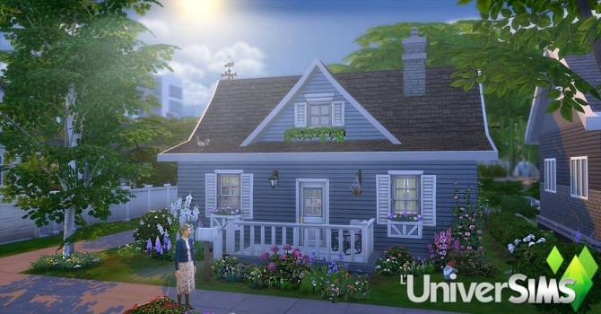 Mamie Blue house by Sirhc59 at L'UniverSims image 20117 670x350 Sims 4 Updates