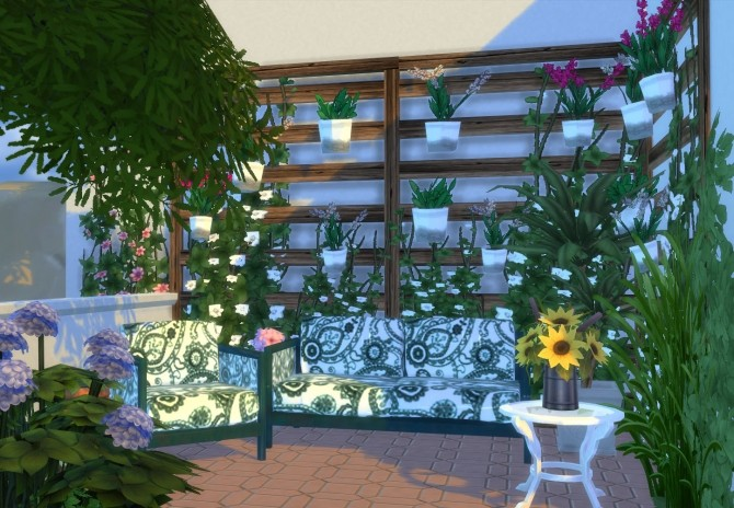 Ibiza Terrace Mediterranean style by Mary Jimenez at pqSims4 image 20118 670x464 Sims 4 Updates
