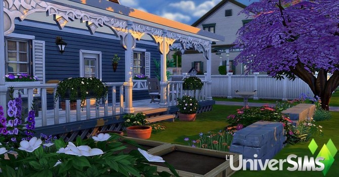 Mamie Blue house by Sirhc59 at L'UniverSims image 20313 670x350 Sims 4 Updates