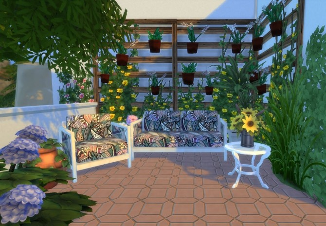 Ibiza Terrace Mediterranean style by Mary Jimenez at pqSims4 image 20314 670x464 Sims 4 Updates