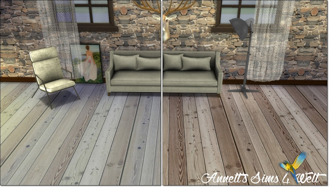 Sims 4 Natural Wood Floors at Annett's Sims 4 Welt