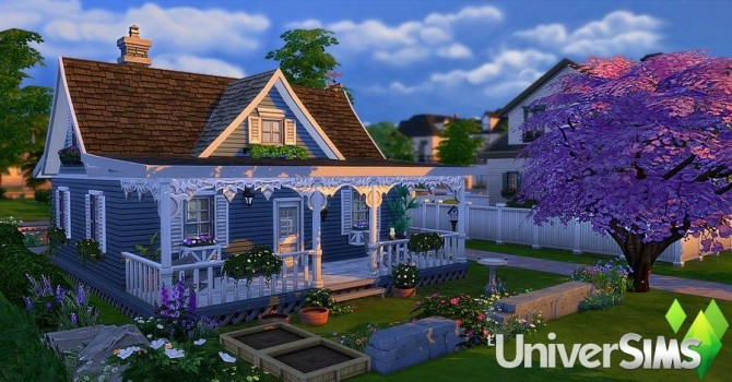 Mamie Blue house by Sirhc59 at L'UniverSims image 20413 670x350 Sims 4 Updates