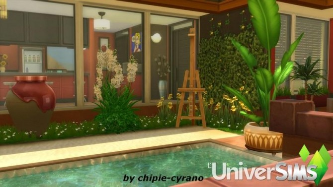 LOasis house by chipie cyrano at L'UniverSims image 20711 670x377 Sims 4 Updates