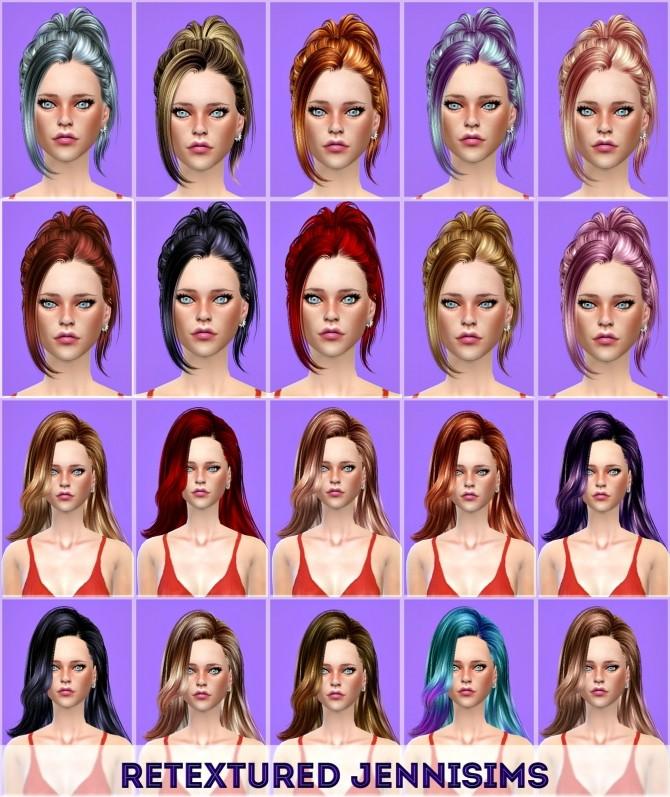 Sims 4 Butterflysims 171 & 060 hair retextures at Jenni Sims