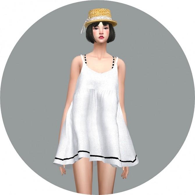 Loosefit Mari Dress at Marigold image 2132 670x670 Sims 4 Updates